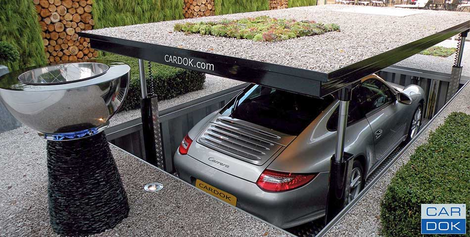 Cardok ondergronds parkeren - particulier
